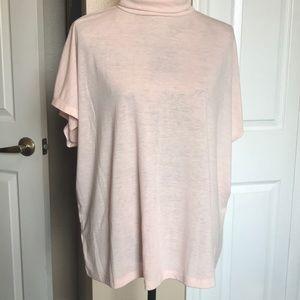Loft blush color loungewear shirt. Size L